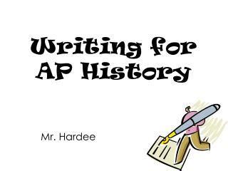 Ap history thesis formula